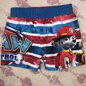 Paw 🐾 Patrol swim trunks